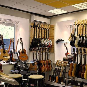 Музыкальные магазины Покровского